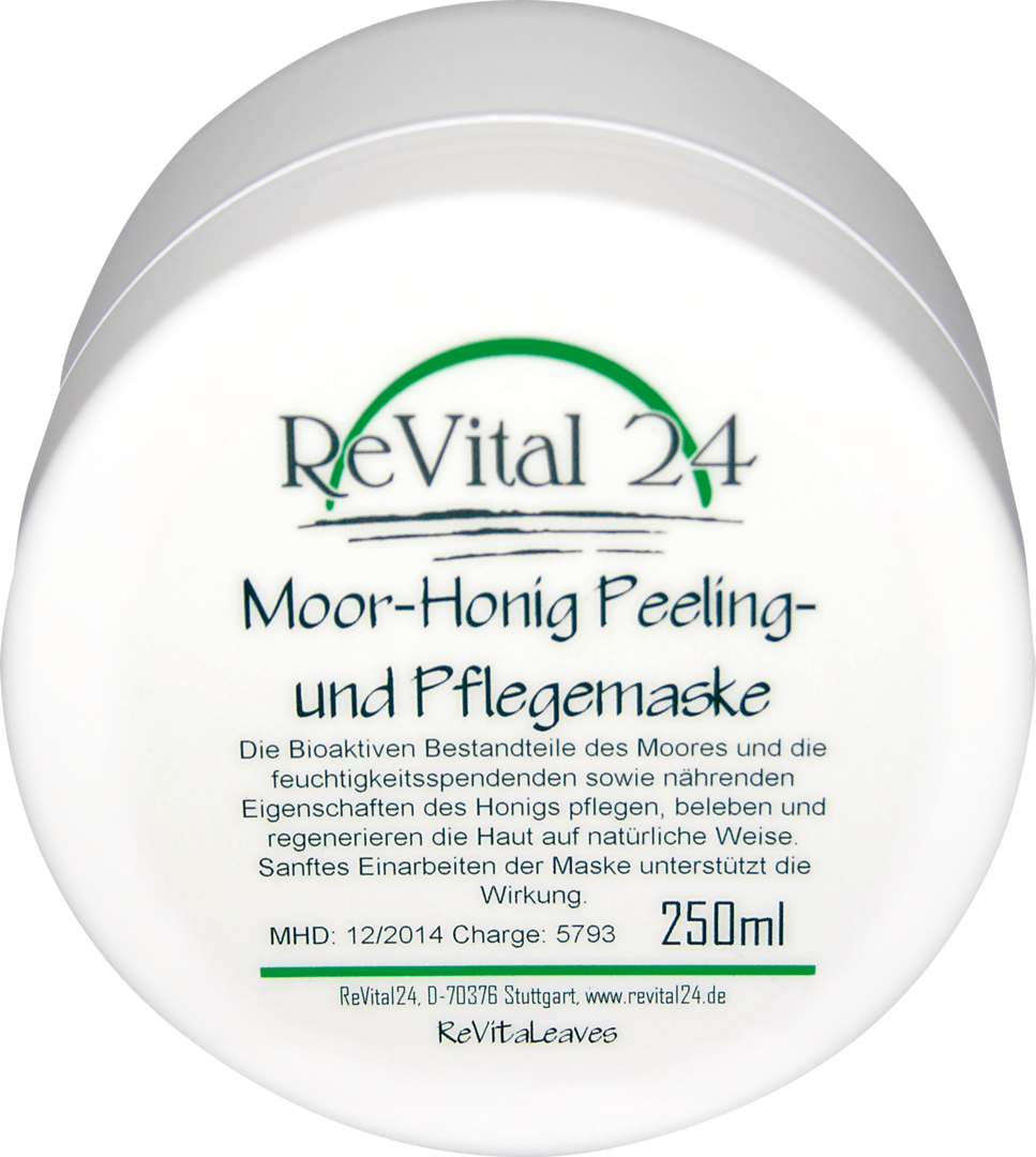 moor honig peeling und pflegemaske 250 ml revital24 skincare. Black Bedroom Furniture Sets. Home Design Ideas